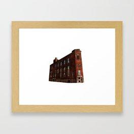 LACHINE RAPIDS HYDRAULIC AND LAND COMPANY KANDER PAPER STOCK COMPANY LTD. Framed Art Print