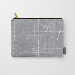 Scottsdale Map, Arizona USA - Pewter Carry-All Pouch