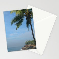 Palm Trees on the Cliff Varkala Stationery Cards
