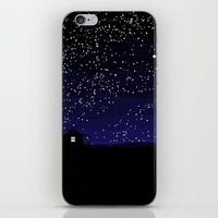 cabin iPhone & iPod Skins featuring Cabin by Jesse Tarlton