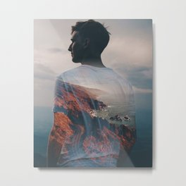 Pangea  Metal Print