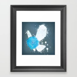 Hey, Listen! Framed Art Print