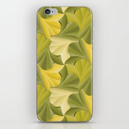 Ginkgo Leaf Foliage Tessalation iPhone Skin