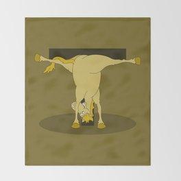 Monogram T Pony Throw Blanket