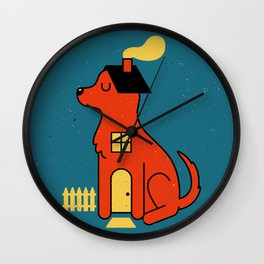 DogHouse Wall Clock
