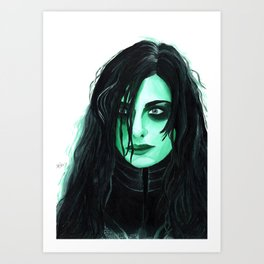Hela Art Print