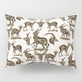 Ernst Haeckel Antilopina Antelope Pillow Sham