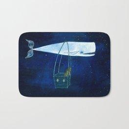 Flying the ocean Bath Mat