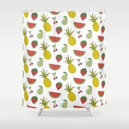 Fruits of Summer Shower Curtain