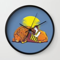Bedtime Stories Wall Clock