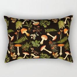 Vintage & Shabby Chic - Night Forest Garden Rectangular Pillow