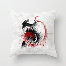 The Symbiote Throw Pillow