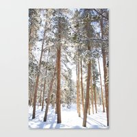 narnia Canvas Prints featuring Narnia by Alyson Cornman Photography
