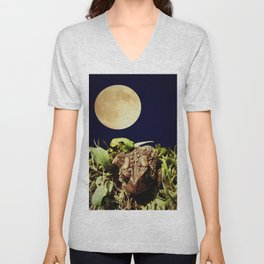 The Toad's Moon Unisex V-Neck
