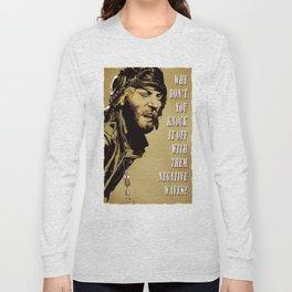 Kellys Heroes -  Oddball Says gold Long Sleeve T-shirt