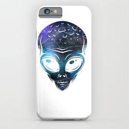Alien Space iPhone Case