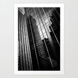 Dark Towers Art Print