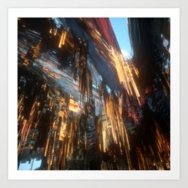 Nothing Grows but Factories no. 16 Art Print
