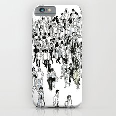 Shibuya Street Crossing Crowd Slim Case iPhone 6s