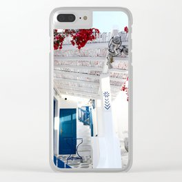 Mykonos Charm Clear iPhone Case