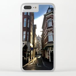 Morning Light in Amsterdam Clear iPhone Case