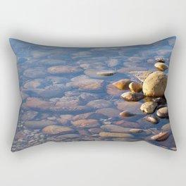 Pebble Stones by the Sea 7738 Rectangular Pillow