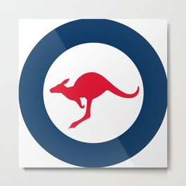 Royal Australian Air Force Roundel Metal Print