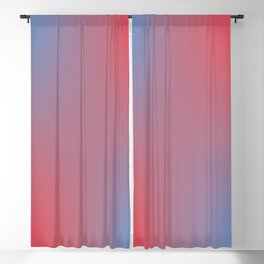 Bluish Signs Blackout Curtain