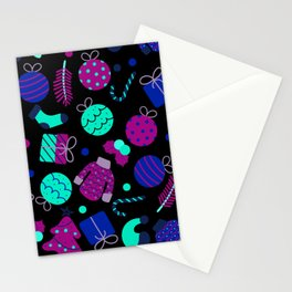 Christmas Elements Stationery Cards