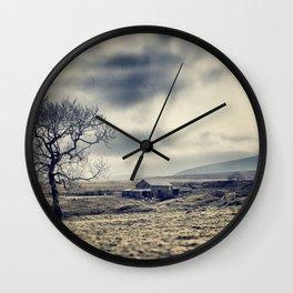Lancashire farm house Wall Clock