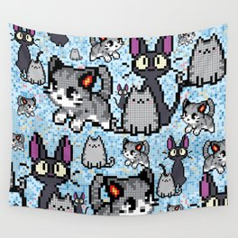 Cat and kitten Wall Tapestry