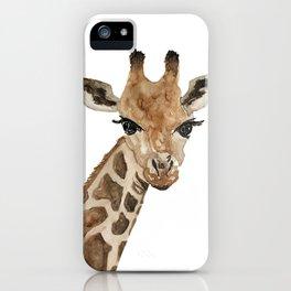 The Animal series, the Giraffe iPhone Case