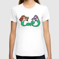 mermaids T-shirts featuring Mermaids by Stella Vee