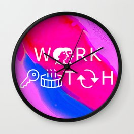 WERK '!TCH Wall Clock