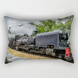 Steam Locomotive Rectangular Pillow