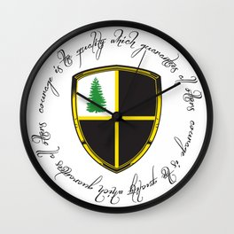 The Republic of the Western Reserve Crest Wall Clock