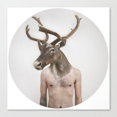 Therianthrope - Caribou Canvas Print