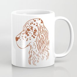 English Setter (White and Brown) Coffee Mug
