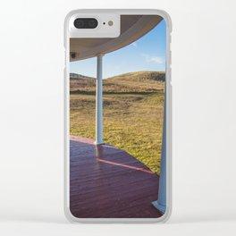 Hurd Round House, Wells County, North Dakota 20 Clear iPhone Case