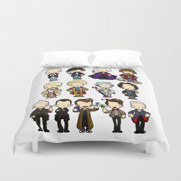 The Doctors Duvet Cover