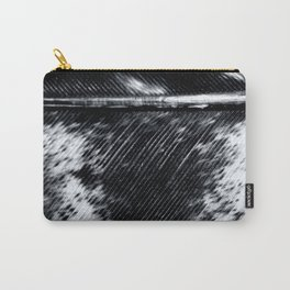 Black and White Feather | Feathers | Spiritual | Nadia Bonello | Canada Carry-All Pouch