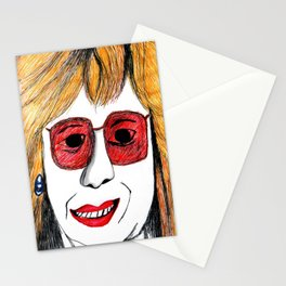 Andrea Riseborough on the battle of the sexes Stationery Cards