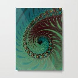 After Eight Dream - Fractal Art  Metal Print