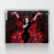 Web of Vampira Laptop & iPad Skin