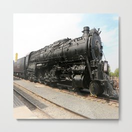 Steam Locomotive Number 5021 Sacramento Metal Print