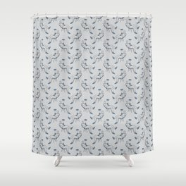 Drink away the gloomy day Shower Curtain