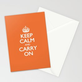 KEEP CALM and CARRY ON Stationery Cards