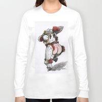 booty Long Sleeve T-shirts featuring Booty Knight by Marek Jarocki