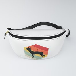 Manchester Terrier graphic For Dog Lovers Cute Dog Fanny Pack