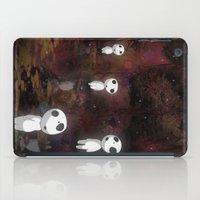 kodama iPad Cases featuring Princess Mononoke - The Kodama by pkarnold + The Cult Print Shop